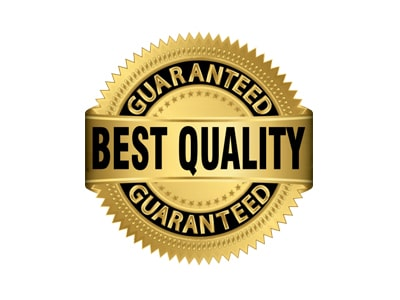 Guaranteed Best Quality